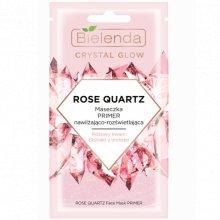 Bielenda - Crystal Glow - Rose Quartz maseczka primer nawilżająco- rozświetlająca 8g