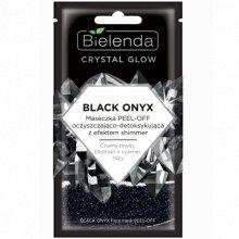 Bielenda - Crystal Glow - Black Onyx maseczka peel-off oczyszczająco- detoksykująca 8g