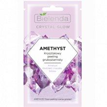 Bielenda - Crystal Glow - Amethyst kryształowy peeling gruboziarnisty 8g