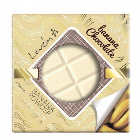 Lovely - Banana Chocolate Powder - Bananowo- czekoladowy puder utrwalający