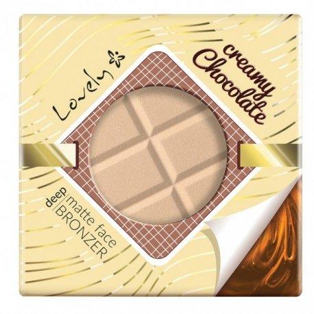 Lovely - Creamy Chocolate Powder - Czekoladowy puder brązujący