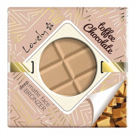 Lovely - Toffee Chocolate Powder - Czekoladowy matujący puder brązujący