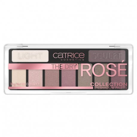 Catrice - The Dry Rose Collection - paleta 9 cieni do powiek 010