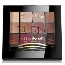 Eveline All In One - Burn - Paleta cieni do powiek 12g