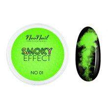 Neonail Smoky Effect - 01 - pyłek do paznokci - efekt dymu 2 g