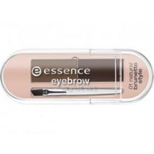 Essence Eyebrow Stylist Set zestaw do stylizacji brwi 01 Natural Brunette