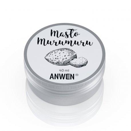 Anwen - Masło Murumuru - masło do pielęgnacji skóry tłustej i problematycznej oraz dla włosów niskoporowatych  40ml