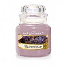 Yankee-Candle-Dried-Lavender-&-Oak-słoik-mały-świeca-zapachowa-drogeria-internetowa-puderek.com.pl