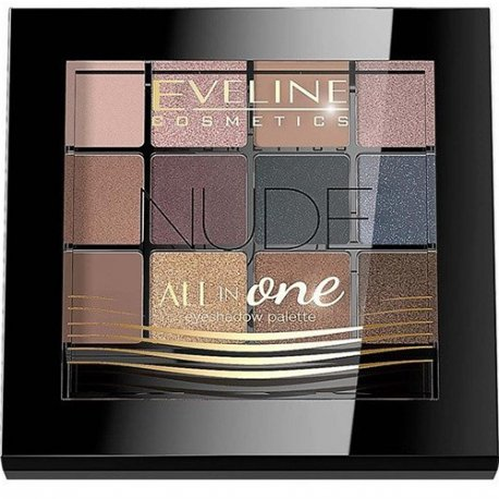 Eveline All in One - Nude - Paleta cieni do powiek 12g