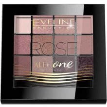 Eveline All in One - Rose - Paleta cieni do powiek 12g
