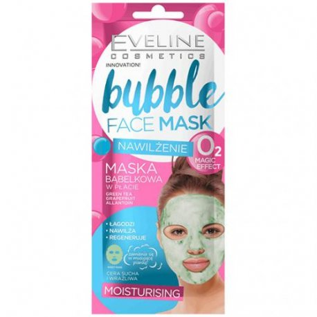 Eveline Bubble Nawilżająca maska w płachcie saszetka