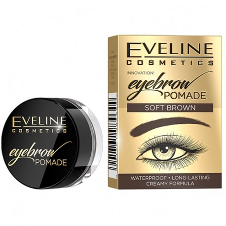 Eveline Eyebrow Pomade - Soft Brown - Pomada do Brwi