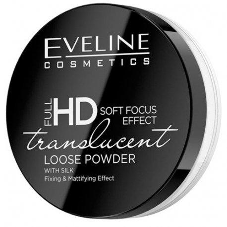 Eveline Full HD Translucent Loose Powder Transparentny Puder Sypki 6g