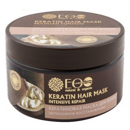 Ecolab Keratin Hair Mask - Keratynowa Maska do Włosów Intensywna Regeneracja 250ml