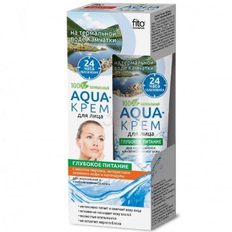 Fitokosmetik Aqua- Krem dla Twarzy Głębokie Nawilżenie 45ml