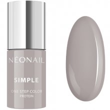 Neonail Simple One Step Color Protein lakier hybrydowy 3w1 - 7837-7 Innocent 7,2 ml