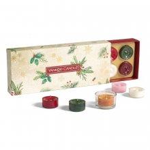 Yankee-Candle-Magical-Christmas-Morning-zestaw-10-tealightów-świecznik-drogeria-internetowa-puderek.com.pl