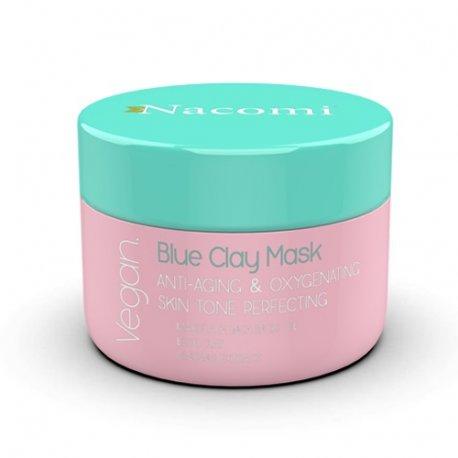 Nacomi Blue Clay Mask – Maska Niebieska przeciwzmarszczkowo-dotleniająca
