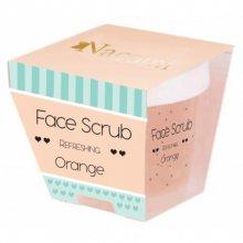 Nacomi Face Scrub Refreshing Orange - Odświeżający peeling do twarzy i ust