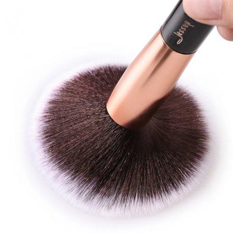 Jessup T155 Brushes Set Black/Rose Gold zestaw 25 pędzli do makijażu