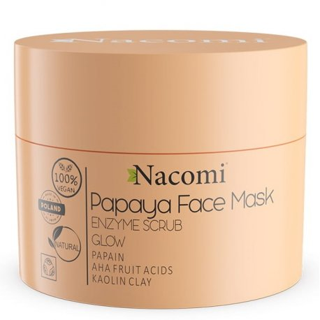 Nacomi Papaya Face Mask Maska Enzymatyczna 50ml