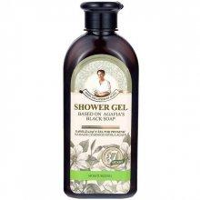 Babuszka Agafia Nawilżający Żel pod prysznic na bazie czarnego mydła Agafii 350 ml