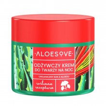 Aloesove Odżywczy Krem do Twarzy na Noc 50ml