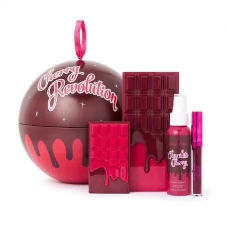 Makeup Revolution Cherry Revolution Gift Set - Zestaw świąteczny