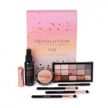 Makeup Revolution The Evening Rose Gift Set - Zestaw świąteczny