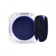 Cat Eye Mirror Powder 12 - magnetyczny pyłek do paznokci + aplikator 1 g