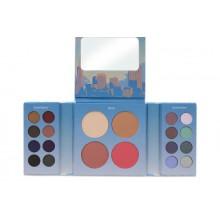 BH Cosmetics San Francisco Eyeshadow & Blush Palette paleta 16 cieni + róże rozświetlacz