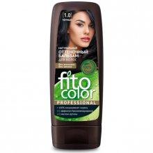 Fitokosmetik Naturalny Balsam Koloryzujący do włosów 1,0 Czarny