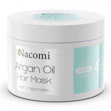 Nacomi Maska do włosów z Olejem Arganowym i Proteinami Kaszmiru 200ml