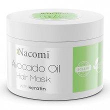 Nacomi Maska do włosów z Olejem Avocado i Keratyną 200ml