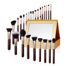 Jessup T285 Zinfandel Brush Set - Zestaw pędzli do makijażu 25 szt. + szkatułka