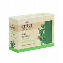 Sattva Mint Body Soap Mydło do Ciała Miętowe