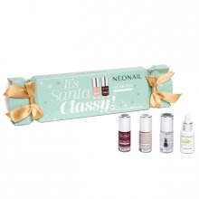 Neonail Zestaw - It's Santa Classy - 4 Lakiery do Klasycznego Manicure