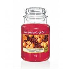 Yankee Candle Mandarin Cranberry słoik duży świeca zapachowa