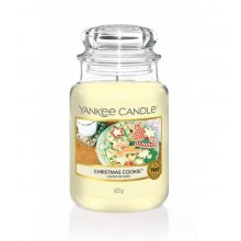 Yankee Candle Christmas Cookie słoik duży świeca zapachowa