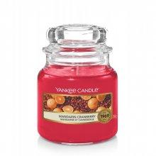 Yankee Candle Mandarin Cranberry słoik mały świeca zapachowa