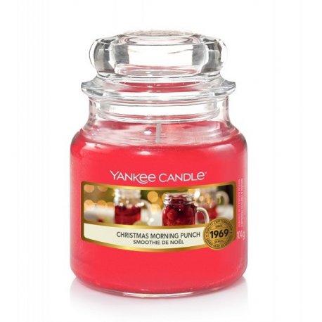 Yankee Candle Christmas Morning Punch słoik mały świeca zapachowa