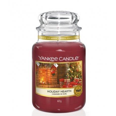 Yankee Candle Holiday Hearth słoik duży świeca zapachowa