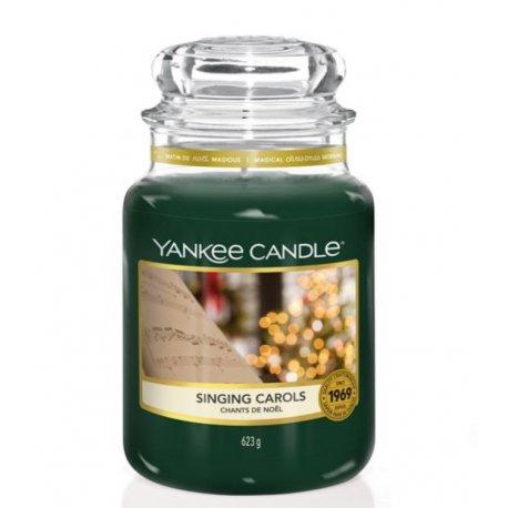 Yankee Candle Singing Carols słoik duży świeca zapachowa