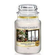 Yankee Candle Surprise Snowfall słoik duży świeca zapachowa
