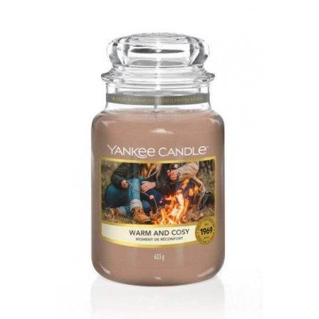 Yankee Candle Warm and Cosy słoik duży świeca zapachowa