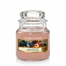 Yankee Candle Warm and Cosy słoik mały świeca zapachowa