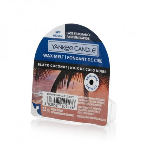 Yankee Candle Black Coconut wosk zapachowy