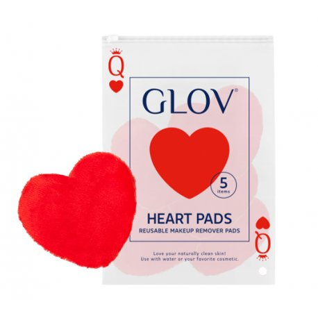 Glov Heart Pads Waciki Wielorazowe