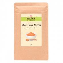 Sattva Herbal Multani Mitti Powder - Glinka do Twarzy 100g