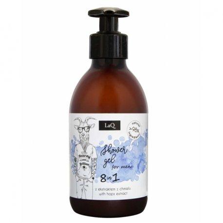 LaQ Zestaw Mały Kozioł Żel pod Prysznic, Peeling myjący - Zestaw dla mężczyzn